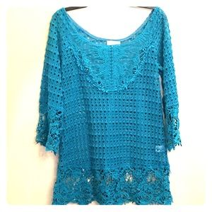 Umgee Lace Top Sz S